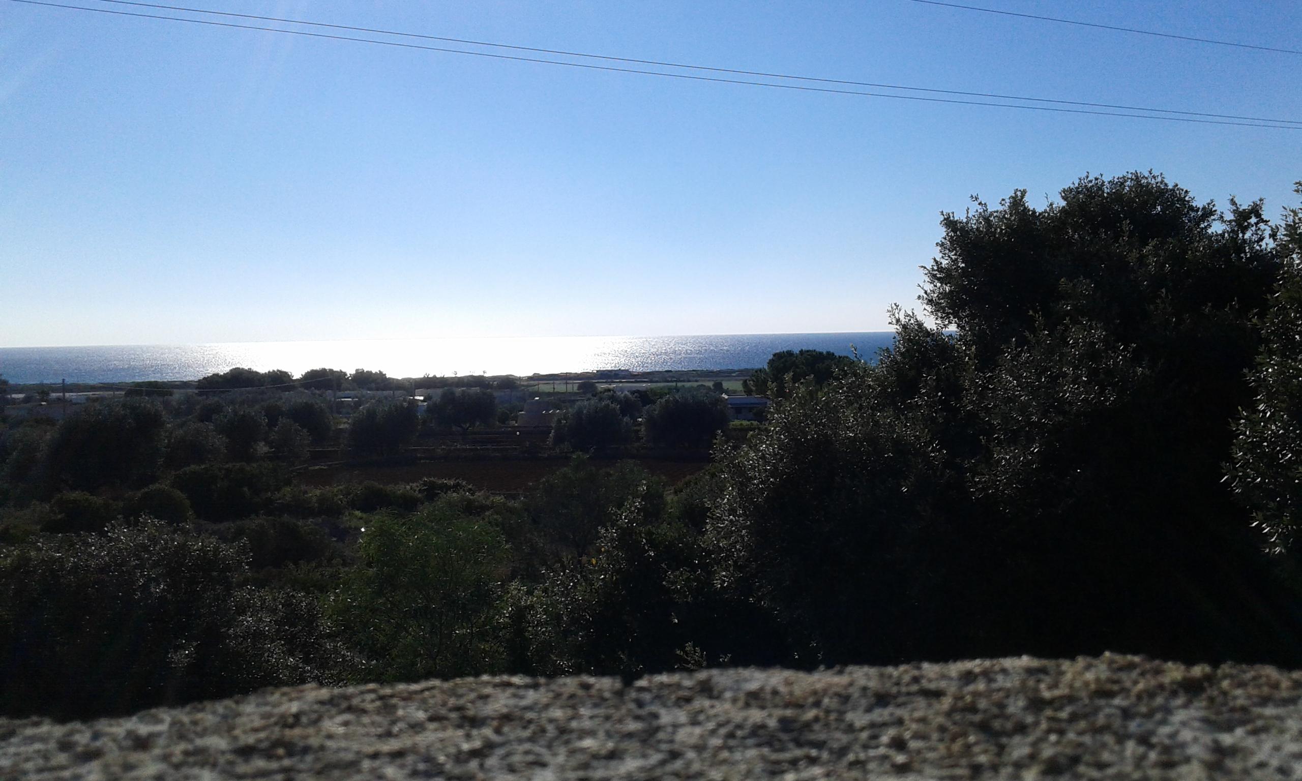 Terreno 2.500mq con rustico di 100mq vista mare (Torre Pali)