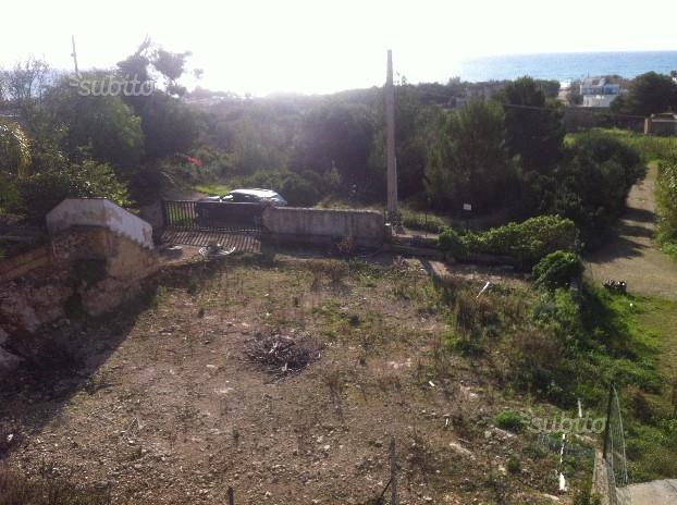 Terreno fronte mare con progetto approvato (Pescoluse)
