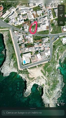 Terreno edificabile con vista mozziafato sulla bellissima Punta Ristola (Castrignano del capo)